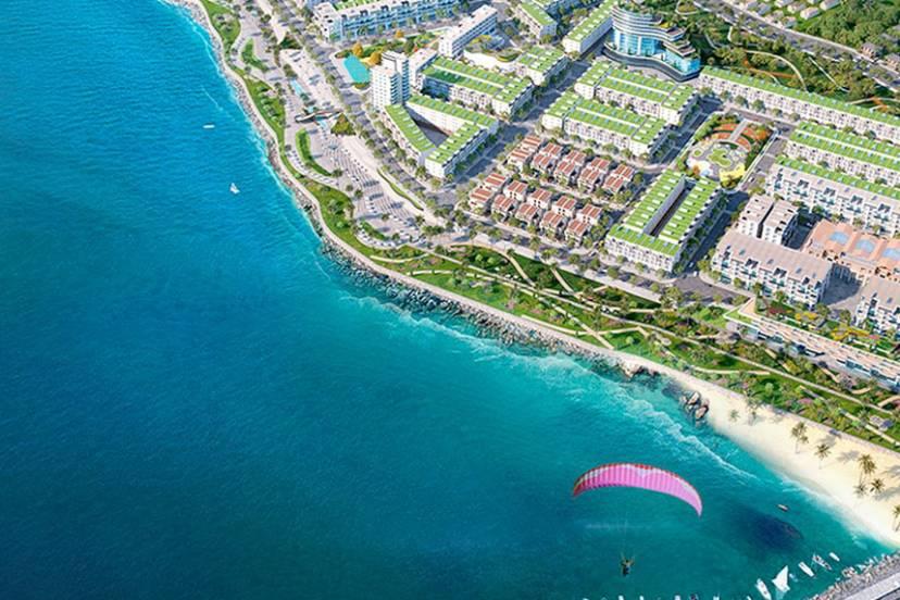 Lợi thế dòng bất động sản biển Tập đoàn Danh Khôi đang phát triển