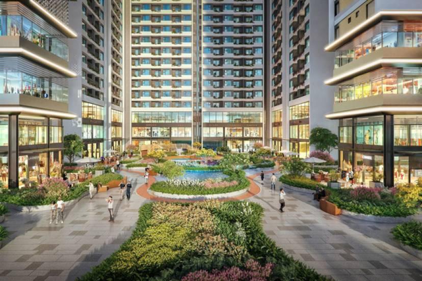 Ra mắt tòa tháp sở hữu không gian sống như resort tại Astral City